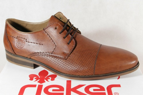 Rieker Schnürschuhe Sneakers Halbschuhe braun 11615 NEU!!