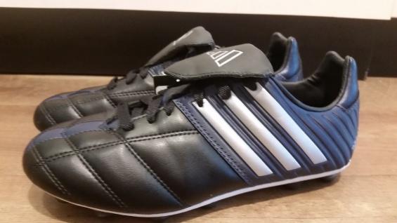 Adidas Fußballschuh schwarz/dunkelblau Nockenstollen NEU Kinderschuh Sportschuh