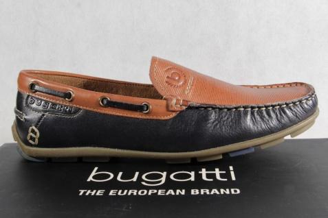 Bugatti braun Slipper, Halbschuh, Sneaker blau/ braun Bugatti Echtleder NEU 40fd71