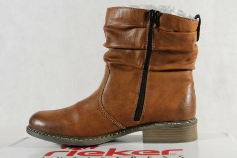 Rieker Stiefel Stiefelette Stiefeletten Boots Winterstiefel braun Z4180 NEU! - Vorschau 3