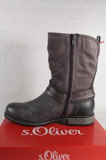 S.Oliver grau Damen Stiefel, Stiefelette, Stiefel grau S.Oliver 25462 NEU! 423f2b