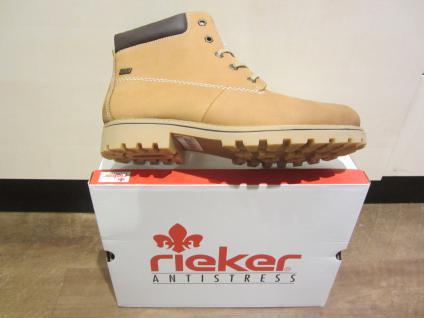 Rieker-Tex Stiefel, Z1430 beige, Leder, wasserdicht, gefüttert, Z1430 Stiefel, NEU b99e55