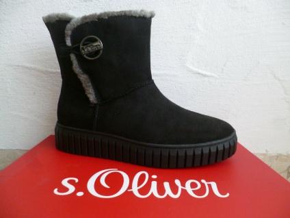 S.Oliver Damen Stiefel Stiefelette Stiefeletten Boots schwarz NEU!
