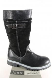 Jana Tex Stiefel Boots Winterstiefel schwarz, Weite H, warm gefüttert 26605 NEU!