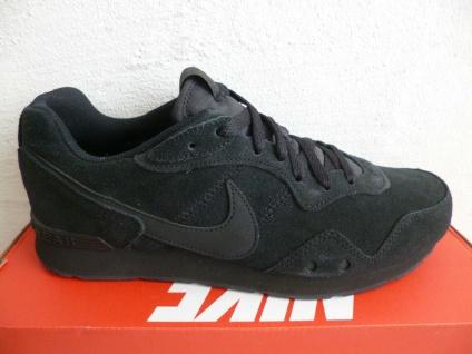 Nike Sneakers Freizeitschuhe Sportschuhe Laufschuhe Halbschuhe schwarz Leder NEU