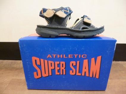 Super Slam Jungen Sandalen Sandaletten blau, NEU!!