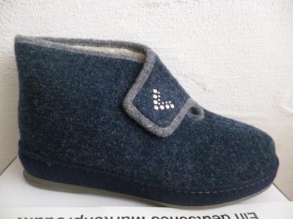 Schawos Damen Pantoletten Hausschuhe Hausschuh Pantoffel Pantoletten Damen blau 2060 NEU!! dae5d2