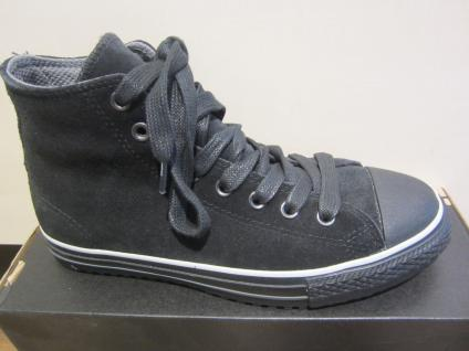 Converse Stiefel zum Schnüren, schwarz, Leder, Thermofutter NEU