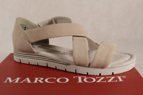 Marco Tozzi Damen Sandalen 28605 Sandaletten düne Echtleder 28605 Sandalen NEU!! 61ee35