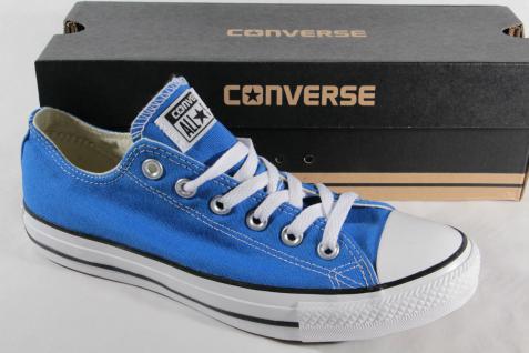 Converse All Star Schnürschuh Sneaker blau, Textil/Leinen, Neu!!!