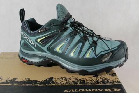 Salomon X Ultra 3 WIDE GTX Sportschuhe Halbschuhe Sneakers green Neu!!!