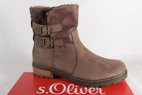 S.Oliver Damen Stiefel, Stiefelette, 25419 Stiefel pfeffer 25419 Stiefelette, NEU! 9a8353
