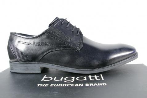 Bugatti Herren Schnürschuh Schnürschuhe Halbschuhe Sneaker schwarz 19608 NEU! - Vorschau 2
