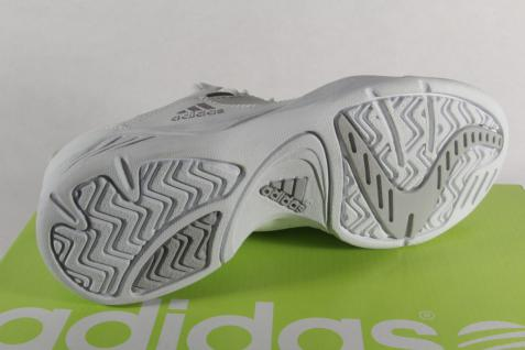 Adidas Schnürschuhe Tennisschuhe Schnürschuhe Adidas Sportschuhe Echtleder weiss NEU 28c78f
