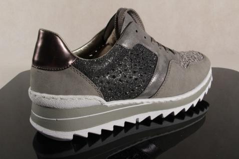 Rieker M6915 grau Damen Schnürschuhe, Halbschuhe, Sneaker grau M6915 NEU! d36796