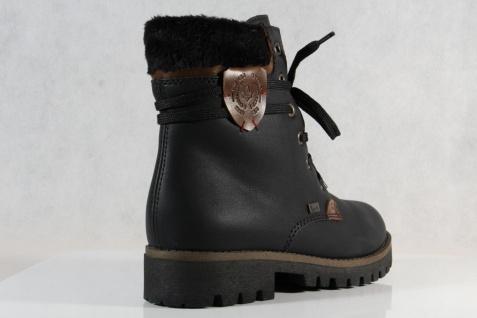 59be9d86c6d7 Rieker Damen Tex Stiefel Stiefeletten Winterstiefel schwarz 785G5 NEU -  Vorschau 4