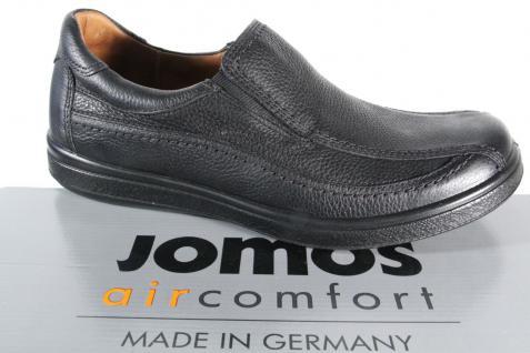 Jomos Wechselfußbett Slipper Halbschuhe schwarz Leder Wechselfußbett Jomos für Einlagen geeignet NEU 9cae45