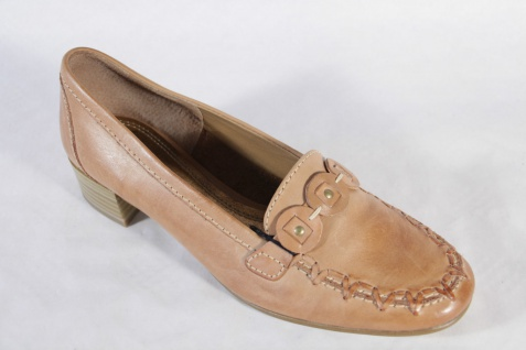 Sally Slipper O'Hara Damen Slipper Sally Ballerina braun Leder NEU!! b3a514