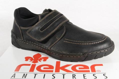 259f596b0acb7a Rieker Slipper Sneakers Sneakers Sneakers Halbschuhe Echtleder schwarz  B0352 NEU Beliebte Schuhe eba2dd