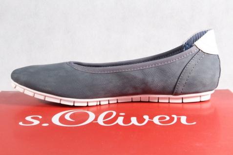 S.Oliver S.Oliver S.Oliver Ballerina Slipper blau NEU!! b501f2