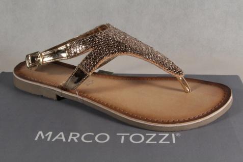 Marco Tozzi Zehenstegsandalen Sandaletten Sandale Sandalette Rosé NEU!! - Vorschau 1