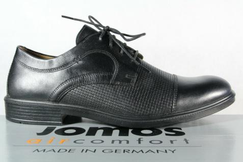 Jomos Halbschuh Sneaker, schwarz, atmungsaktives Wechselfußbett 208218 NEU! - Vorschau 2