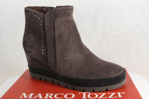 Marco grau Tozzi Stiefel, Stiefelette Stiefeletten grau Marco 25437 Echtleder NEU!! 6f193b