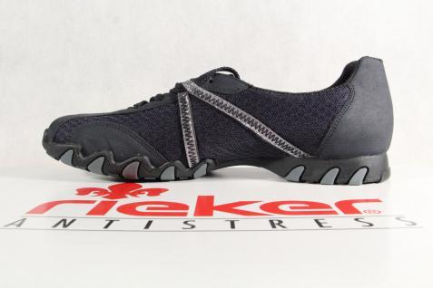 Rieker Damen Sneakers, Schnürschuhe, Halbschuhe, Sneakers, Damen blau, 49020 NEU! 04c144