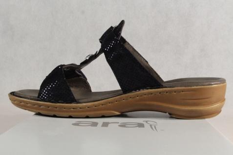 ara Damen Beliebte Pantoletten Sandalen Sandaletten blau 27273 NEU! Beliebte Damen Schuhe e2a8f9