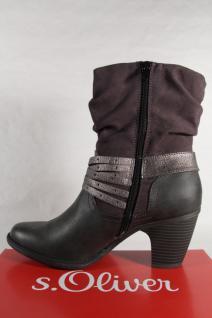 S.Oliver Damen Stiefel Stiefel, Stiefelette, Stiefel Damen grau 25361 NEU! 800aa3