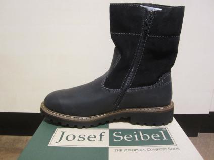 Seibel Herren Stiefel Winterstiefel Boots Stiefelette schwarz Leder 21927 NEU - Vorschau 2