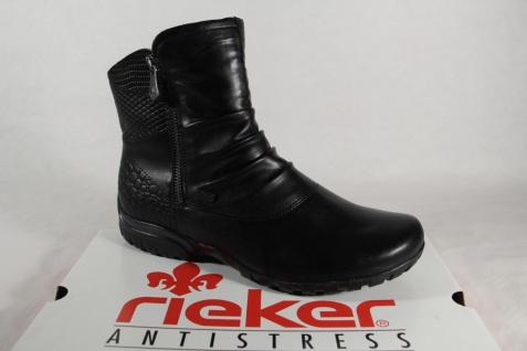 Rieker Z4663 Tex Damen Stiefel Stiefelette schwarz wasserdicht NEU