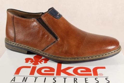 Rieker braun, Herren Slipper, Sneaker, Halbschuh, braun, Rieker Echtleder 13451 NEU ec2017