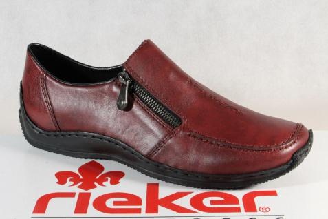Rieker Damen Slipper Halbschuhe, Sneakers Leder braun 52093 NEU!