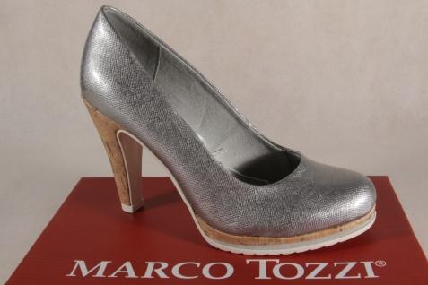 Marco Tozzi Pumps Ballerina Slipper silber 22401 NEU! - Vorschau 1