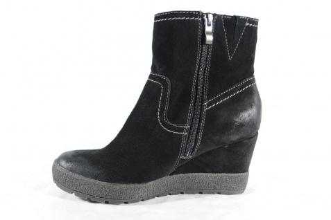 Marco Tozzi Stiefel, schwarz, Keilsohle, Schuhe gefüttert, RV NEU!! Beliebte Schuhe Keilsohle, b1e314