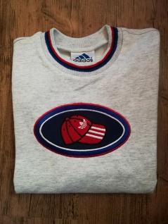 Adidas Jungen Sweatshirt Sweater hellgrau Pullover Pulli Sport NEU