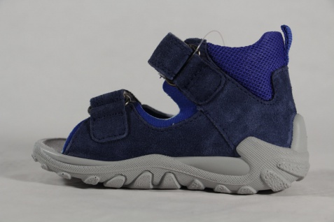 Superfit Knaben Lauflern Schuhe Sandalen Echtleder blau Neu - Vorschau 3