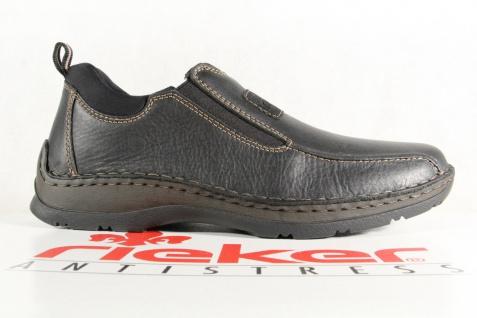 Rieker Herren Slipper Sneakers schwarz Echtleder 05363 NEU - Vorschau 2
