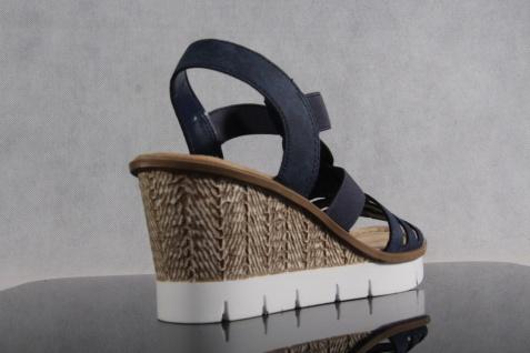 Rieker Damen Sandale blau Sandalette Sandalen Sling blau Sandale 65515 NEU!! 991f94