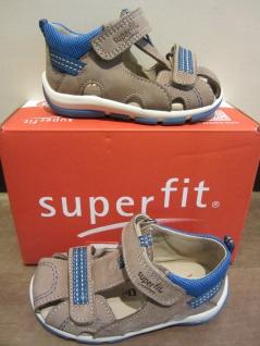 Superfit Lauflern-Stiefel Schuh Sandale braun/blau KVLederfußbett Neu !!! - Vorschau 2