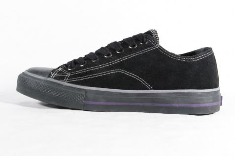 Venice Schnürschuh, Sneaker, schwarz Sportschuh, gefüttert, schwarz Sneaker, Gummisohle NEU e07f57