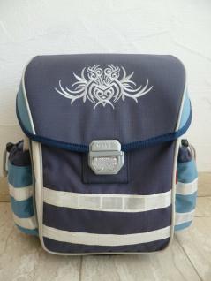 McNeill Schultasche Schulrucksack blau 6-tlg. NEU!!!