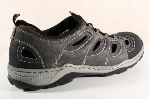Rieker Slipper Sneakers Halbschuhe NEU grau weiche Lederinnensohle 08065 NEU Halbschuhe 4c2688