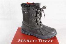 Marco Tozzi Stiefel Stiefelette Boots grau, gefüttert RV 56205 NEU!!