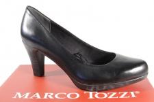 Marco Tozzi 22415 Pumps Slipper Trotteur schwarz weiche Innensohle Leder NEU!