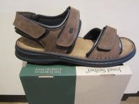 Seibel Sandalen Sandaletten braun Leder Klettverschluss NEU