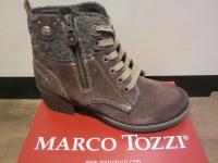 Marco Tozzi Stiefel, Stiefelette, Winterstiefel, braun, leicht gefüttert NEU!!