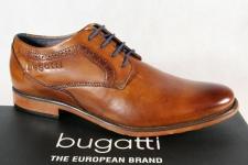 Bugatti Herren Schnürschuh Schnürschuhe Halbschuhe Sneaker braun 16310 NEU!