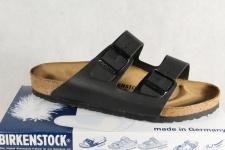 Birkenstock Arizona Pantolette Sandale Hauschuhe schwarz 051791 NEU!